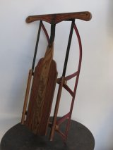 American Ace Wooden Sled
