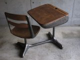 Solid Metal Desk&chair