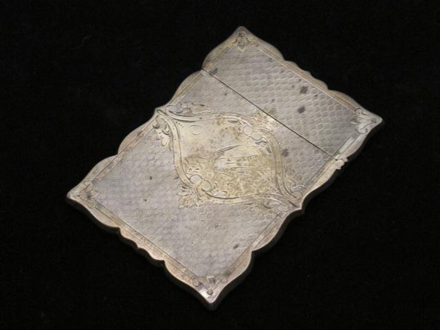 画像1: Sterling silver  Card case