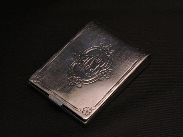 画像1: Nouveau Vesta  Silver Match case