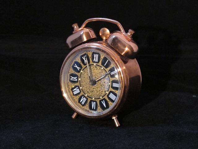 画像1:  Wind up Copper Clock