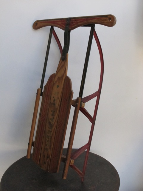 画像1:  American Ace Wooden Sled