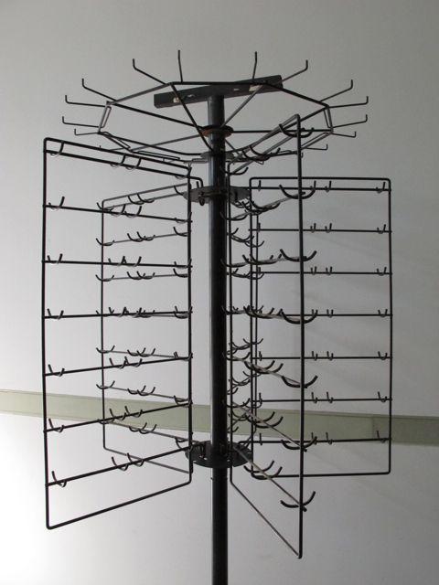 画像1: Vintage Rotating Display Rack