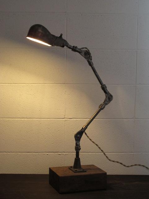 画像1: Industrial Desk Lamp
