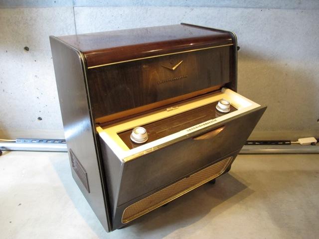 画像1: Vintage Record&Radio Cabinets