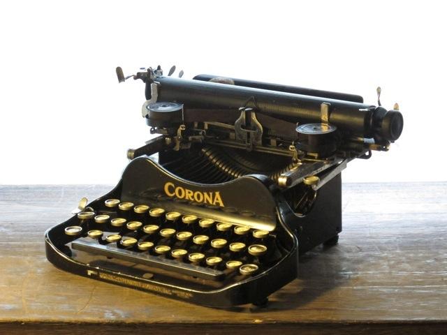 画像1: ☆アンティークタイプライター☆ CORONA Model 3
