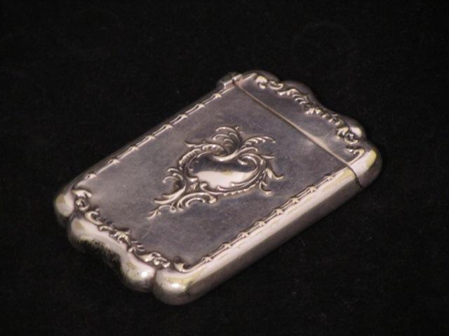 画像1: Repousse  Silver Match case 4
