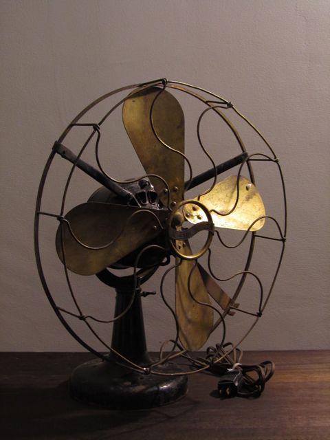 画像1: Westinghouse Brass Fan