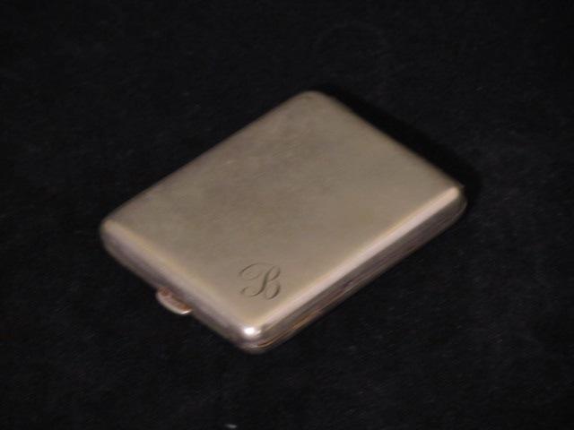 画像1: Sterling Silver  Match case